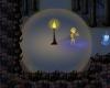 anglerwood nighttime edgar in lantern light with spirit ghost